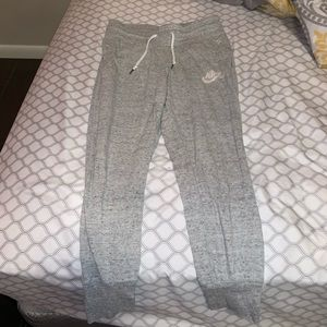 Grey nike joggers